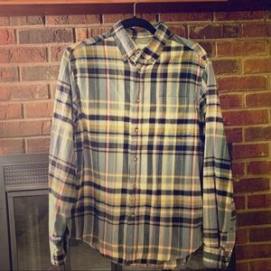 Goodfellow & co plaid shirt size M